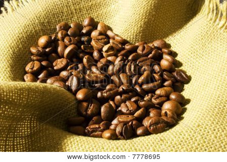 many coffe beans
