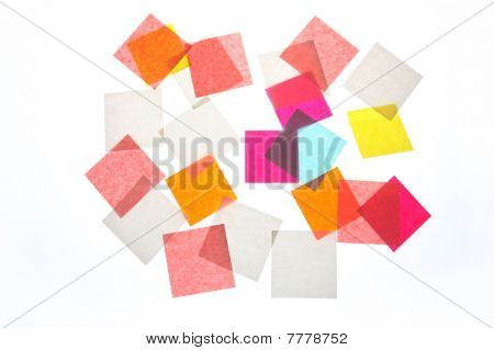 Stickers Background Colour