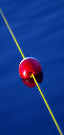 Red and White Buoy