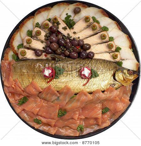 Assorted Smoked Fish Platter