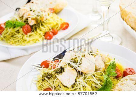 Pasta With Pesto