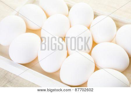 White Eggs