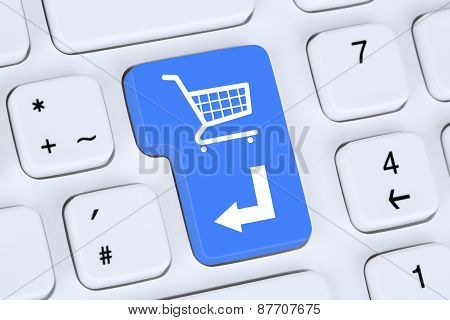 Online Shopping Order E-commerce Internet Shop Concept