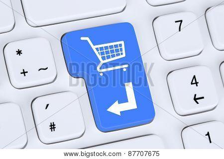 Online Shopping Order E-commerce Internet Shop Concept