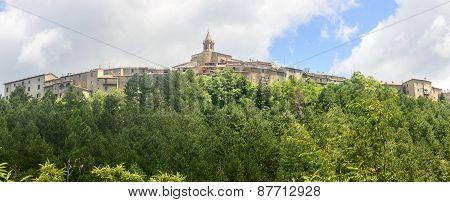 Monticello Amiata (tuscany, Italy)