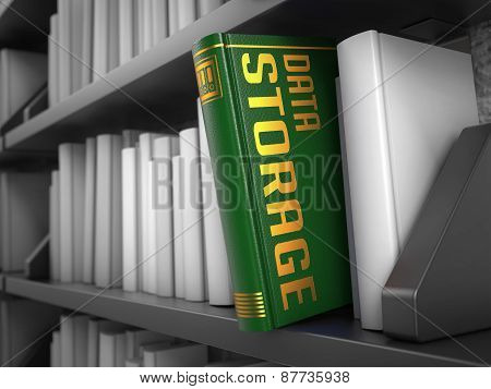 Data Storage - Title of Green Book.