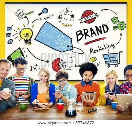Brand Branding Price Tag Marketing Trademark Concept