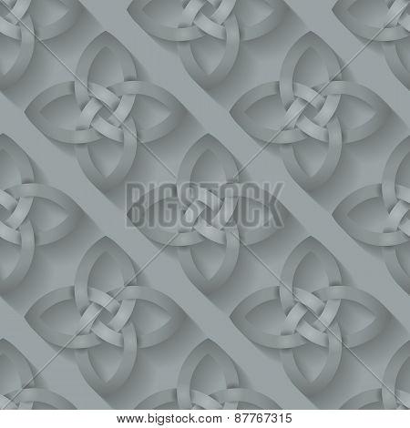 Celtic Knotwork Seamless Background