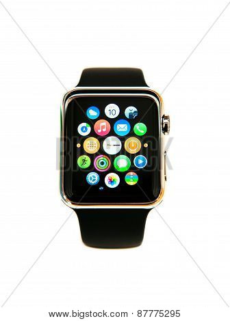 Apple Watch On White Background