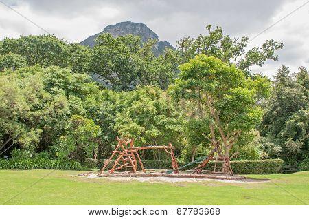 Childrens Playground In The Kirstenbosch Botanical Gardens