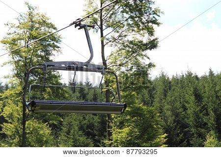 Funicular In Jeseniky Mountains