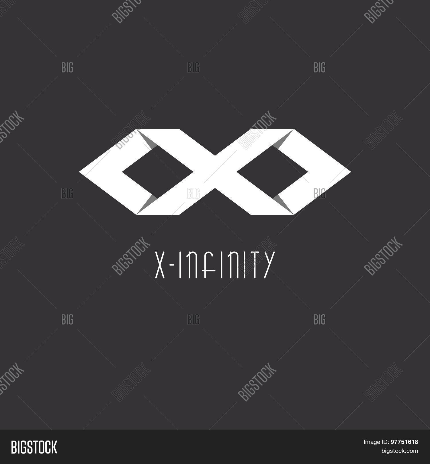 Infinity Sign Letter Vector  Photo Free Trial  Bigstock