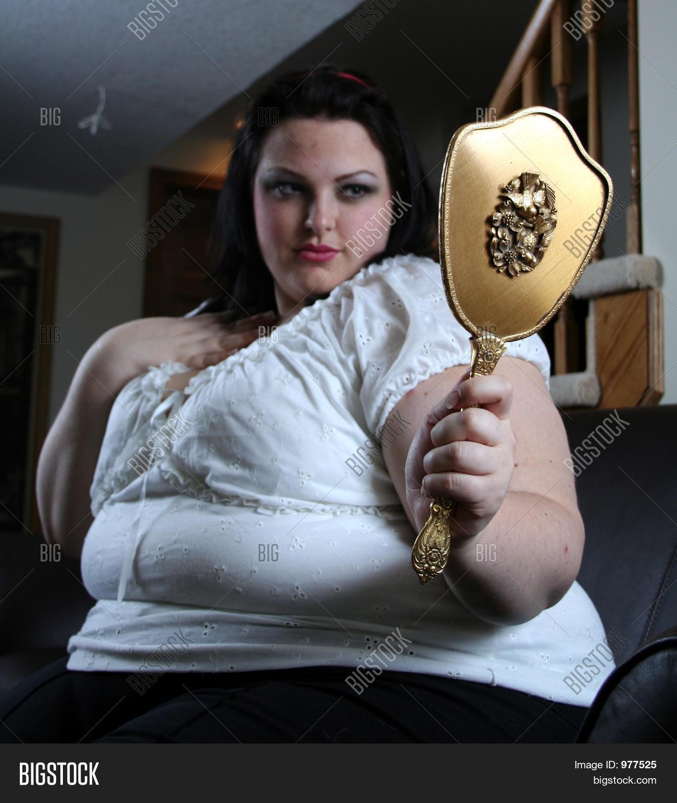 Big woman got