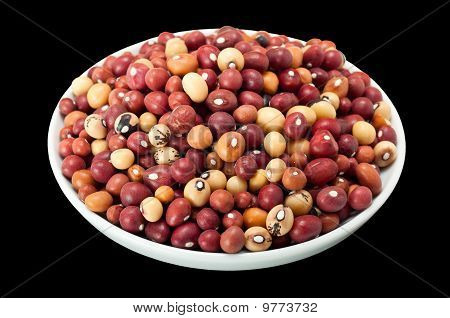 Bowl Of Jugo Beans
