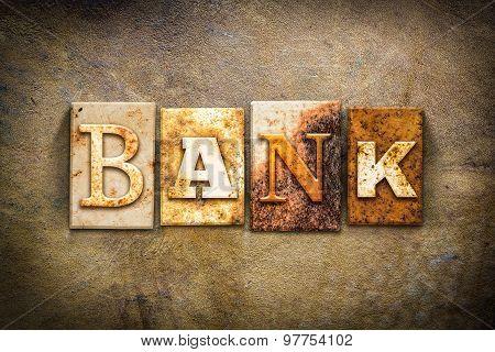 Bank Concept Letterpress Leather Theme