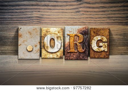 Dot Org Concept Letterpress Theme