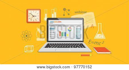 Banner For Online Education Site