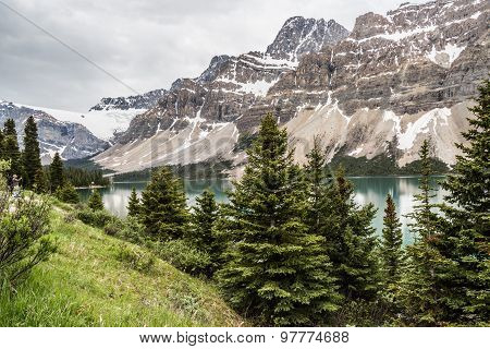 The Canadian Rockies have numerous high peaks and ranges. The Canadian Rockies are composed of shale and limestone. One of the most beautiful landscape and scenery in north America