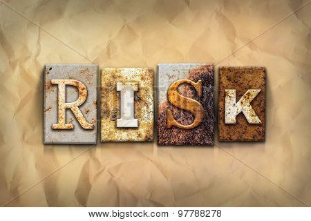 Risk Concept Rusted Metal Type