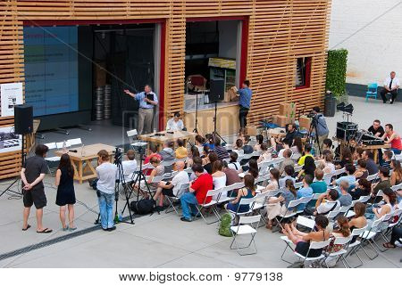 Audience At Workshop In