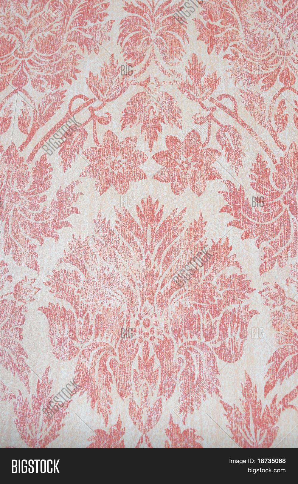 Vintage Pink Floral Image Photo Free Trial Bigstock