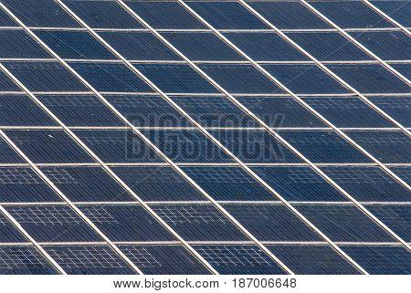 solar panel on a roof alternative energy