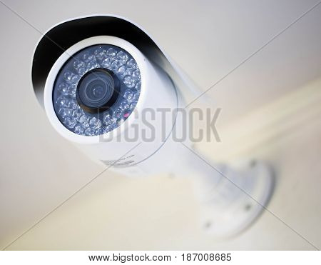 Security surveillance camera monitoring mass surveillance fighting crime feeling of security