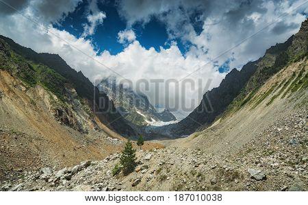 Chalaadi Glacier Valley