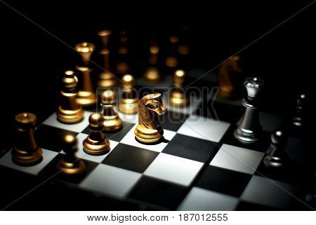 chess game, the real knight, dark knight