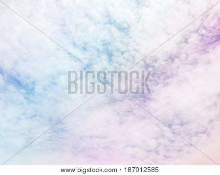 Colorful Cloud Sky Abstract Background, Beautiful Color Cloud Sky Background, Abstract Colorful Clou