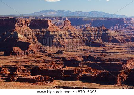 Spectacular landscapes of Canyonlands National park in Utah USA