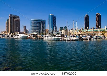 San Diego Harbor and downtown