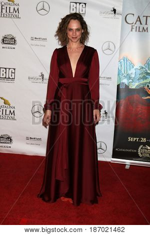 LOS ANGELES - OCT 1:  Fiona Dourif at the Catalina Film Festival - Saturday at the Casino on October 1, 2016 in Avalon, Catalina Island, CA