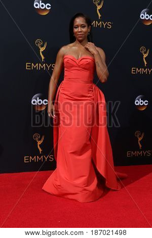 LOS ANGELES - SEP 18:  Regina King at the 2016 Primetime Emmy Awards - Arrivals at the Microsoft Theater on September 18, 2016 in Los Angeles, CA