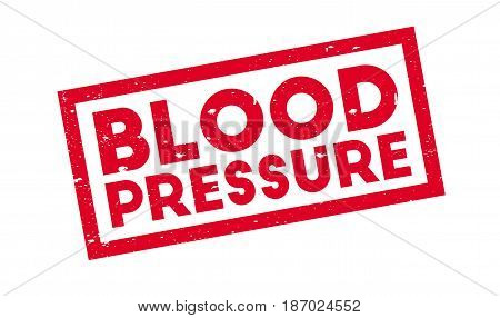 Blood Pressure rubber stamp. Grunge design with dust scratches. Effects can be easily removed for a clean, crisp look. Color is easily changed.
