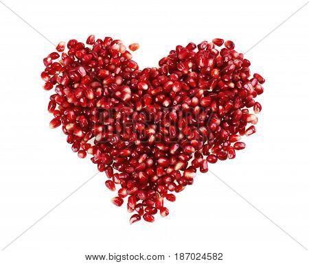 Fruit food antioxidants heart tropical fruit healthy pomegranate
