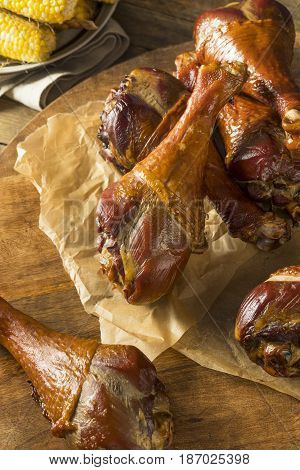 Barbecue Smoked Turkey Leg