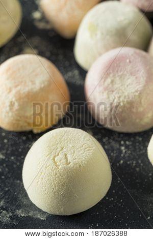 Sweet Japanese Mochi Ice Cream