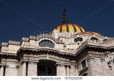 Palacio de Bellas Artes, Centro Historico,Mexico City