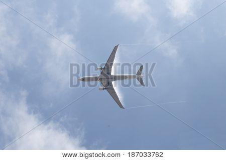 Airplane Landing To Ataturk International Airport