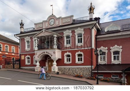 Mouse Museum in Myshkin a town in Yaroslavl region Russia. The name of the town is derived from the word