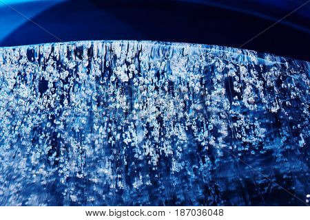 Frozen Gas Bubbles Settle On The Air Cavity In The Ice. A Beautiful Natural Phenomenon. Greenhouse E