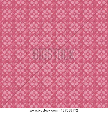 white translucent flowers on a pink background