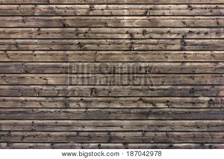 Dark wooden texture. Wood brown texture. Background old panels. Rustic background. Vintage colored surface