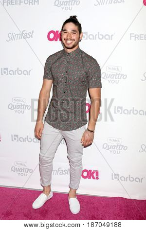LOS ANGELES - MAY 17:  Alan Bersten at the OK! Magazine Summer Kick-Off Party at the W Hollywood Hotel on May 17, 2017 in Los Angeles, CA