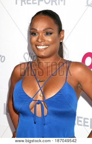 LOS ANGELES - MAY 17:  Bianca Banks at the OK! Magazine Summer Kick-Off Party at the W Hollywood Hotel on May 17, 2017 in Los Angeles, CA