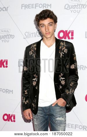 LOS ANGELES - MAY 17:  Gavin Casalegno at the OK! Magazine Summer Kick-Off Party at the W Hollywood Hotel on May 17, 2017 in Los Angeles, CA