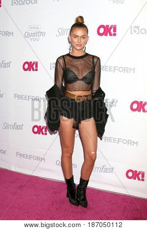 LOS ANGELES - MAY 17:  Lala Kent at the OK! Magazine Summer Kick-Off Party at the W Hollywood Hotel on May 17, 2017 in Los Angeles, CA