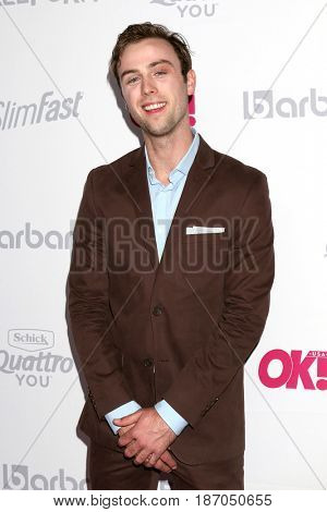 LOS ANGELES - MAY 17:  Sterling Beaumon at the OK! Magazine Summer Kick-Off Party at the W Hollywood Hotel on May 17, 2017 in Los Angeles, CA