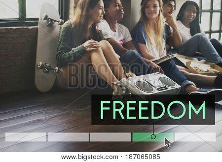 Freedom Enjoyment Good Vibes Independence